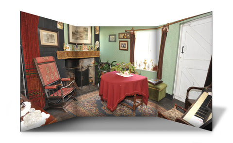 Victorian Living Room Style Standing Role Play Scene Setter