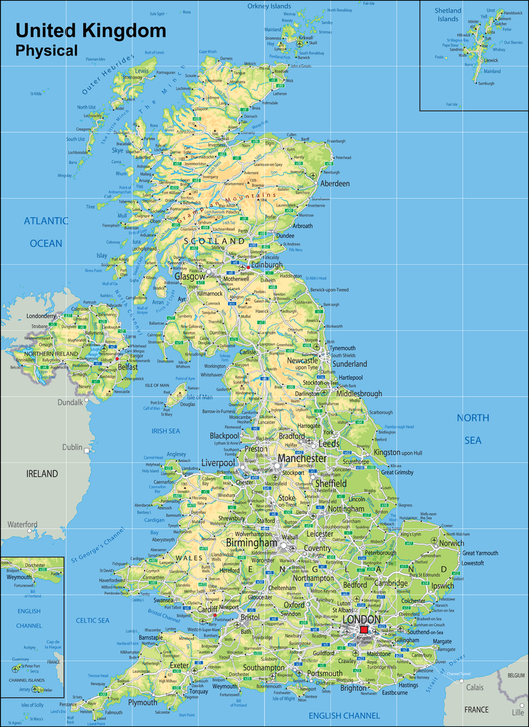Map Of Uk Leicester.Uk Vinyl Map Mat 120x165cm 15cm Grid Suitable For Programmable Floor Robots I E Bee Bots