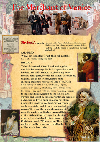 The Merchant of Venice - Shylock's Speech