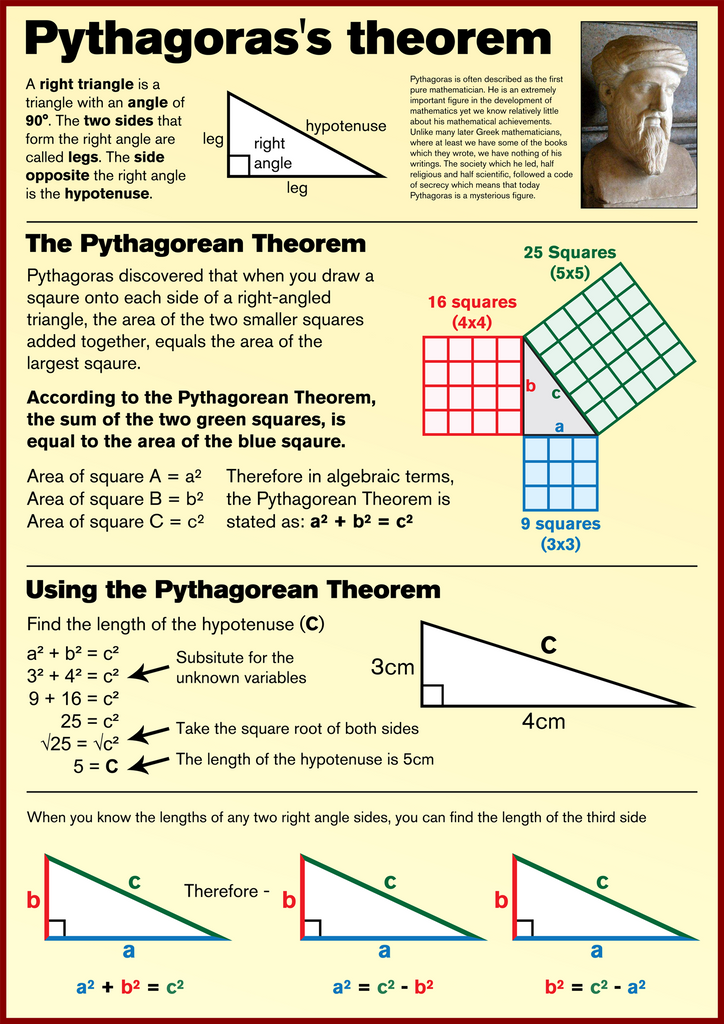 Pythagorean Theorem Poster Bundle by Hayley Rees   TpT