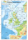 United Kingdom Shipping Forecast Map