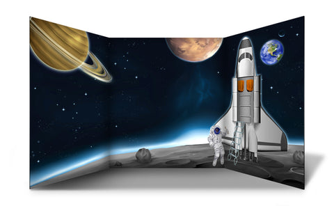 Space Landing Free Standing Role Play Scene Setter