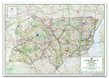 Haringey London Borough Map