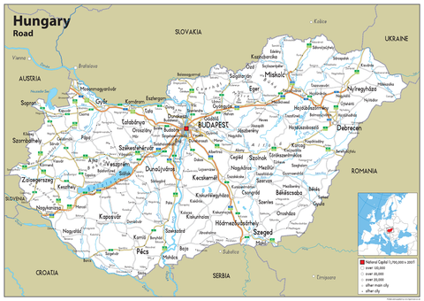 Hungary Road Map
