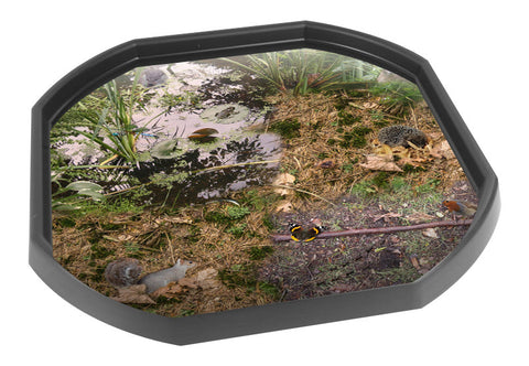 British Wildlife and Minibeasts Tuff Tray Mat (Black Tray Not Included)