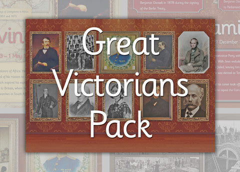 Great Victorians Photo Pack Digital Download