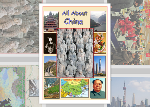 All About China Photo Pack Digital Download