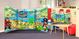 Pirate Scene Free Standing Role Play Scene Setter