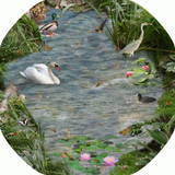 The Pond tuff tray mat features pond life on, above, aroundsand in the water! Spot a swan, duck, heron and much more. Perfect for individual or small group imaginative play. Designed to fit in the Tuff Tray or the Tuff Spot.