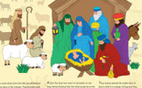 The Story of the Nativity Backdrop