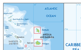 Antigua Physical Map