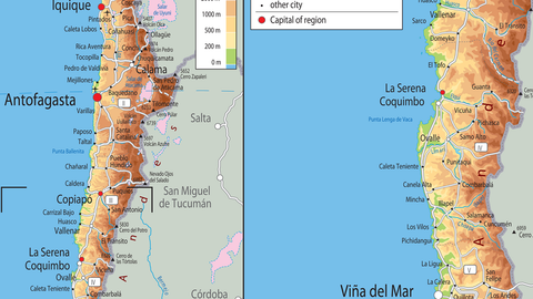 Chile Physical Map on chile volcano erupts, chile's map, south america map, chile rivers map, chile elevation map, chile precipitation map, chile culture, chile population density map, chile history, chile flag, chile rodeo, chile world map, chile climate zone map, chile geography, chile landscape, chile gold map, chile economic map, chile beaches, chile food,