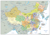 China Political Map