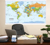 Large Laminated World Reversible Map