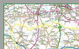 Royal County of Berkshire in England, UK.  This map covers the towns      Bracknell‎     Eton     Hungerford     Maidenhead‎     Newbury     Reading     Sandhurst     Slough‎     Thatcham‎     Windsor     Wokingham