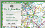 Nottinghamshire County Map