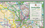 Derbyshire County Map
