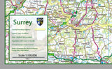 Surrey County Map