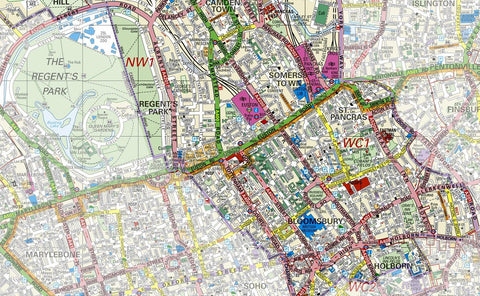 Camden Borough Map Camden London Borough Map – Tiger Moon Camden Borough Map