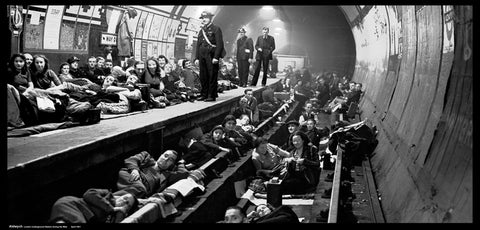 The Blitz - Aldwych Underground Backdrop