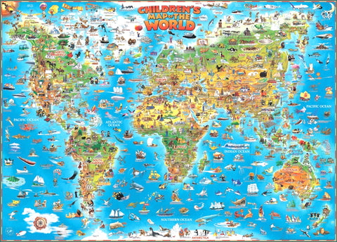 Dino's Map of the World