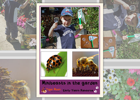 Minibeasts in the Garden Photo Pack Digital Download