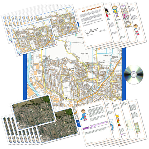 Ordnance Survey Map Classroom Pack of Your Local Area
