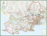 Swansea County Map