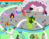 Willow Wish Kingdom Mythical Play Mat