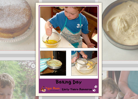 Baking Day Photo Pack Digital Download