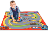 Cars Racing Track Play Mat