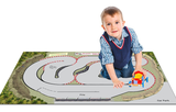 Winding Racetrack Play Mat