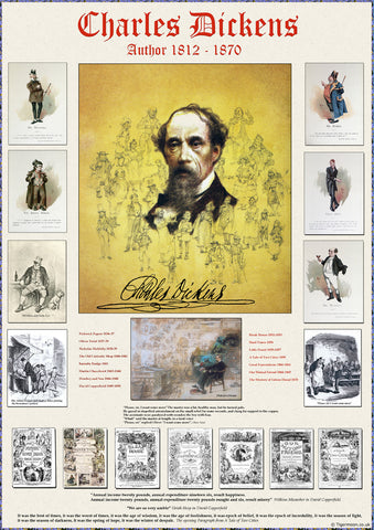 Charles Dickens Poster