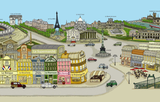 Paris - France Play Mat