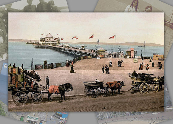 Seaside Holidays In The Past Photo Pack