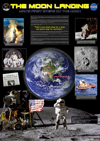 The Moon Landing Poster