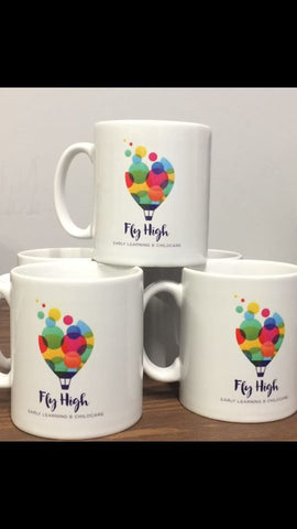 Set Of Personalised Staff Mugs