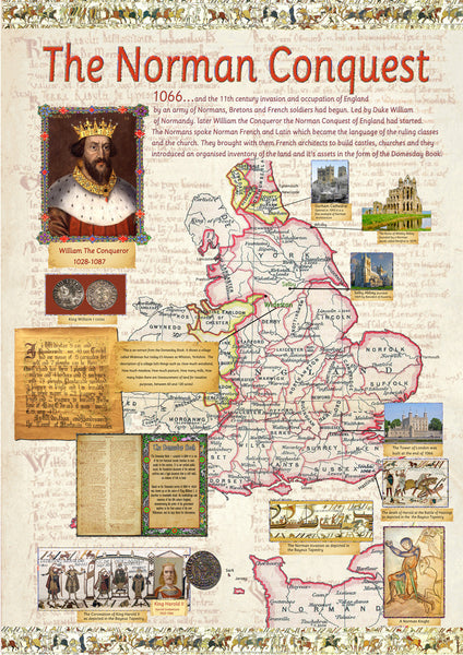 The Norman Conquest Of 1066 Poster Tiger Moon