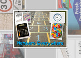 Numbers Everywhere Photo Pack Digital Download