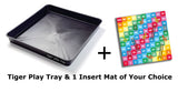Tiger Play Tray and 1 Insert Mat Of Your Choice - 59cm x 59cm