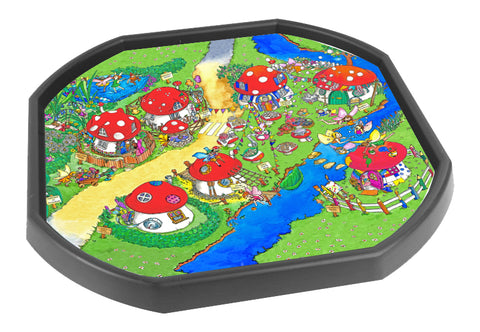 Erinsdale Fairy Village Tuff Tray Insert (Black Tray Not Included)