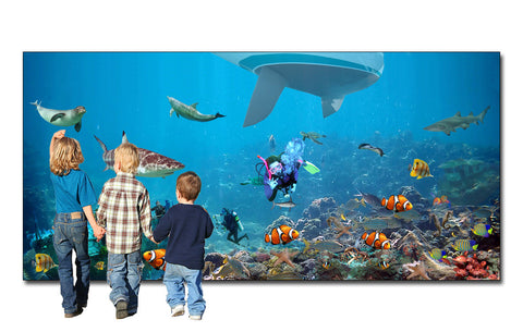 Underwater World Backdrop