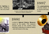 The Victorians History Poster Timeline