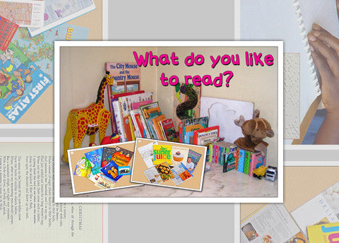 What Do You Like To Read Photo Pack Digital Download