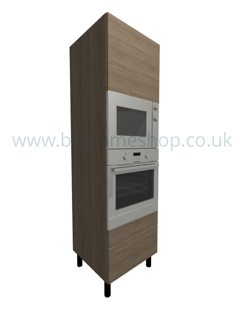 600 Oven Housing 1050 APP: T2: 2 Soft Close Drawer:  MODBO