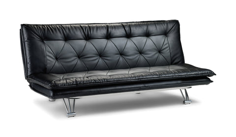 Elan Sofa Bed 2 Tone, Black and Grey