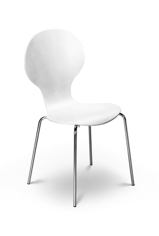 Keeler Chair - White