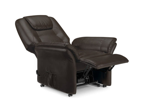 Riva Rise & Recliner Chair - Antique Black