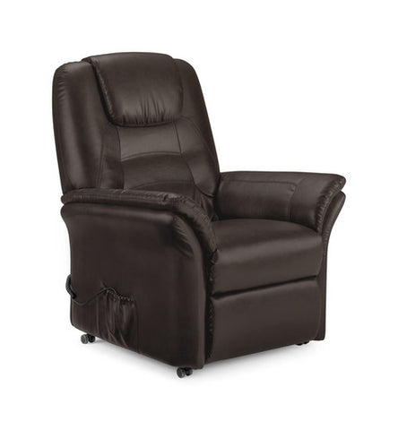 Riva Rise & Recliner Chair - Antique Brown
