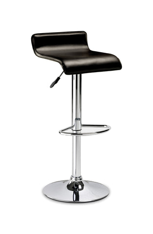 Stratos Bar Stool - Brown Faux Leather